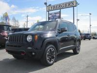 2016 JEEP RENEGADE TRAILHAWK ! THIS VEHICLE HAS THE