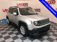 Clean CarFax-Low Miles, Renegade Latitude, 4D Sport