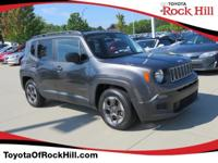 We are excited to offer this 2016 Jeep Renegade. Only
