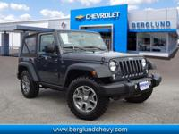 Take command of the road with this 2016 Jeep Wrangler.