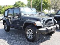 Certified. CARFAX One-Owner. This 2016 Jeep Wrangler