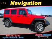 ACCIDENT FREE, LEATHER INTERIOR, Wrangler Unlimited