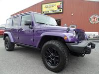 Just arrived 2016 Jeep Wrangler Unlimited Backcountry