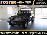 Priced below KBB Fair Purchase Price! Black 2016 Jeep