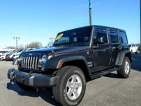 Check out this 2016 Jeep Wrangler Unlimited Sport while
