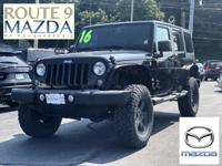 CARFAX One-Owner. Wrangler Unlimited Sport Lifted,