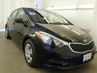 Come in and drive Mentor Kia's own 2016 Forte LX! This