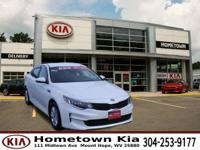Certified. Snow White Pearl 2016 Kia Optima LX FWD