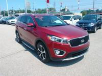 Recent Arrival! 2016 Kia Sorento EX Red AWD.Awards:*