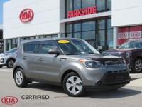 2016 Kia Soul Grey AM/FM/MP3 Audio System, Only 19k