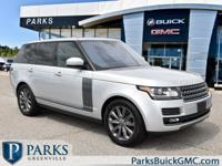 2016 Silver Land Rover Range Rover Clean CARFAX.Contact