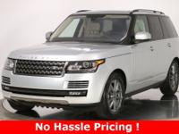 CARFAX One-Owner. Indus Silver 2016 Land Rover Range