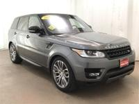 This One Owner Lease Return 2016 Range Rover Sport 5.0L