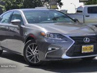 DGDG Certified Used 2016 Lexus ES 350 (FWD, 6-Speed