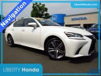 White 2016 Lexus GS 350 AWD 6-Speed Automatic with