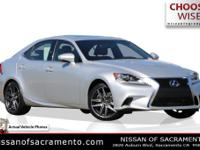2016 Lexus IS Silver Lining MetallicNew Price! Backup