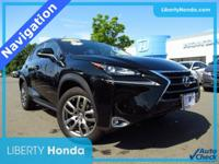 Black 2016 Lexus NX 200t AWD 6-Speed Automatic 2.0L 16V