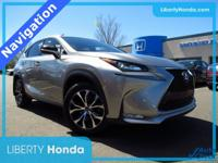 Gold 2016 Lexus NX 200t F Sport AWD 6-Speed Automatic