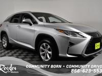 All Wheel Drive!!!AWD* This Silver 2016 Lexus RX 350 is