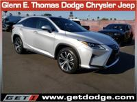 CARFAX One-Owner. Silver 2016 Lexus RX 350 AWD 8-Speed