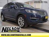 New Price! 2016 Lincoln MKC Select Midnight Sapphire