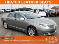 HEATED LEATHER SEATS, MEMORY SEATS, SYNC WITH LINCOLN