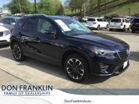 CARFAX One-Owner. Crystal Blue 2016 Mazda CX-5 Grand
