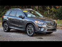 Meteor Gray 2016 Mazda CX-5 Grand Touring AWD 6-Speed
