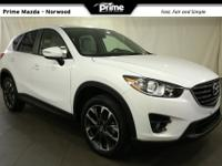 2016 Mazda CX-5 Grand Touring in Crystal White Pearl,