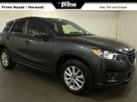 2016 Mazda CX-5 Touring in Meteor Gray Mica, Bluetooth
