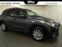 2016 Mazda CX-5 Touring in Meteor Gray, Bluetooth Hand