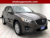 Titanium Flash Mica 2016 Mazda CX-5 Touring New Tires,