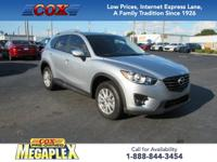 This 2016 Mazda CX-5 Touring in Sonic Silver Metallic