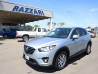 2016 Mazda CX-5 Touring 4D Sport Utility Sonic Silver