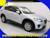 ONE owner CX-5 with 2.5L I4 F DOHC 16V engine, cloth