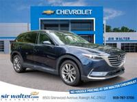2016 Mazda CX-9 Grand Touring Deep Crystal Blue Mica