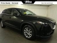 2016 Mazda CX-9 Touring in Jet Black Mica, Bluetooth