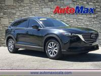 Black 2016 Mazda CX-9 Touring FWD 6-Speed Automatic