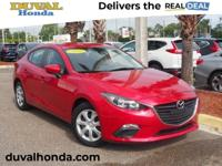 Recent Arrival! This 2016 Mazda Mazda3 i in soul red