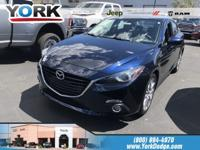 Crystal Blue 2016 Mazda Mazda3 s Grand Touring FWD