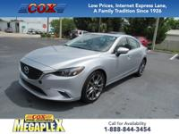 This 2016 Mazda6 i Grand Touring in Sonic Silver