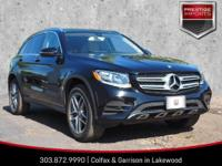 Black 2016 Mercedes-Benz GLC 300 4MATIC? 4MATIC? 2.0L