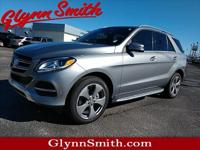 This Silver 2016 Mercedes-Benz GLE GLE 350 4MATIC might