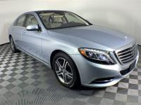2016 Mercedes-Benz S-Class. This S 550 S-Class is