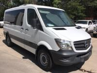 12 PASSENGER VAN, TURBO DIESEL, REAR A/C.  3rd Row