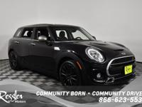 This Black 2016 MINI Clubman is powered by a 2.0L 4