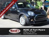 This 2016 MINI Cooper Clubman S comes well-equipped