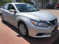 Brilliant Silver 2016 Nissan Altima 2.5 S FWD CVT with