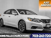 2016 Nissan Altima 2.5 SV White ** Bluetooth **, **