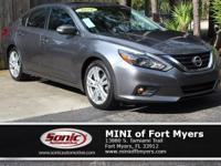 This 2016 Nissan Altima 3.5 SL comes well-equipped with